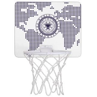 World Wealth Network Mini Basketball Hoop