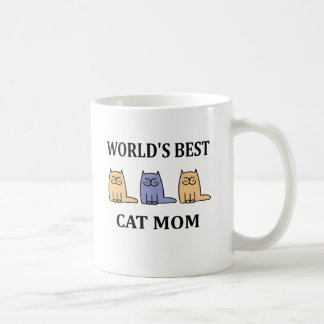 World's Besr Cat Mum #2 Coffee Mug