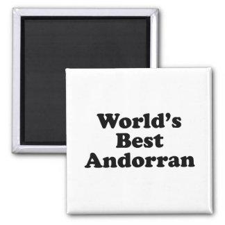 World's Best Andorran Magnet
