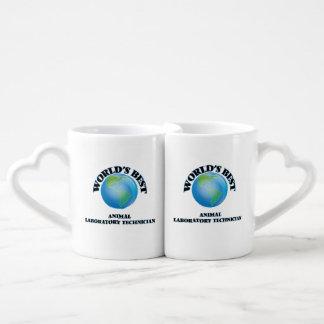 World's Best Animal Laboratory Technician Lovers Mug Set
