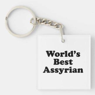 World's Best Assyrian Key Ring