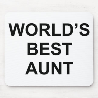 World's Best Aunt Mouse Pad