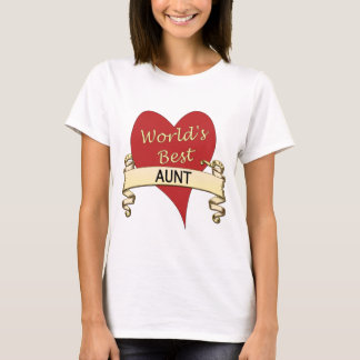 World's Best Aunt T-Shirt