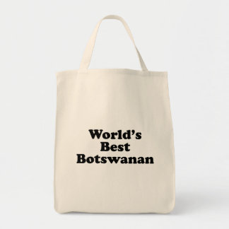 World's Best Botswanan Tote Bag