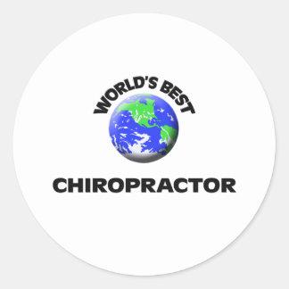 World's Best Chiropractor Stickers