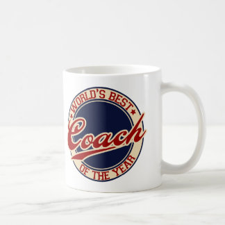 World's Best Coach of the Year Coffee Mug
