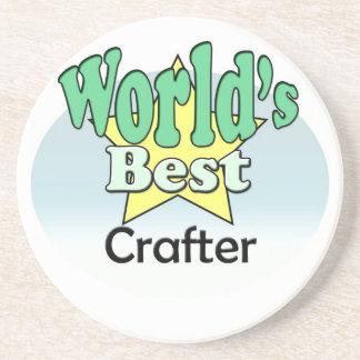 World's best Crafter Coaster
