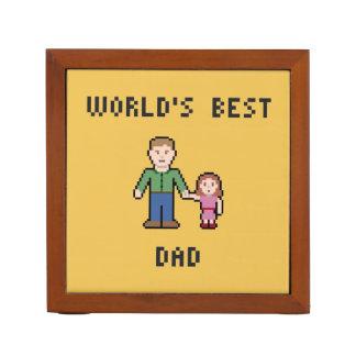 World's Best Dad Boy/Girl Desk Organizer