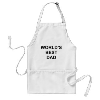 World's Best Dad Standard Apron