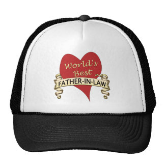 World's Best Father-In-Law Cap