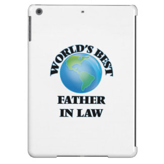World's Best Father-in-Law iPad Air Cases