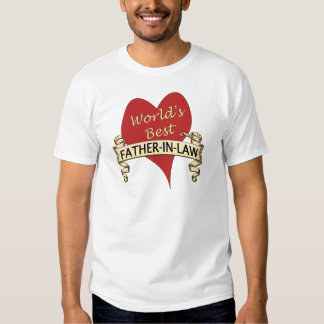World's Best Father-In-Law T Shirts