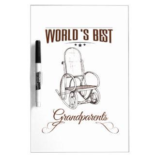 World's best grandpa dry erase board