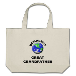 World's Best Great Grandfather Bags