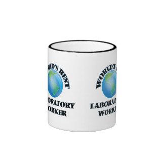 World's Best Laboratory Worker Coffee Mugs