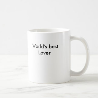 World's best Lover Coffee Mug