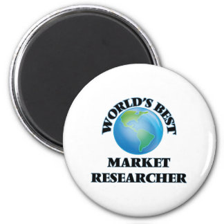 World's Best Market Researcher Magnets