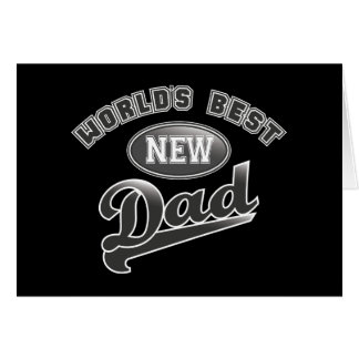 World's Best New Dad Card