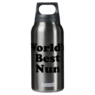 World's Best Nun Insulated Water Bottle