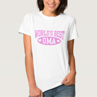 World's Best Oma Shirts