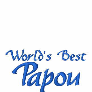 World's Best Papou - for your greek grandpa! Polo