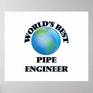 World's Best Pipe Engineer Print