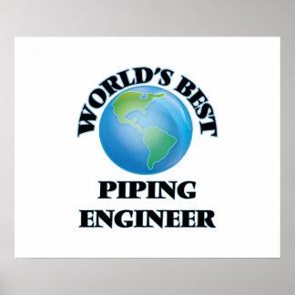 World's Best Piping Engineer Print