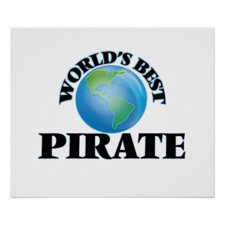 World's Best Pirate Poster