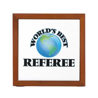 World's Best Referee Desk Organizer