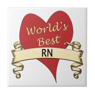 World's Best RN Tile