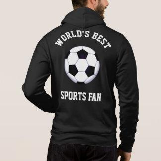 World's Best Sports Fan Zip Hoodie