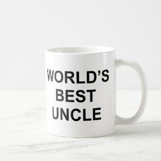 World's Best Uncle Coffee Mug