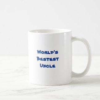 World's Bestest Uncle Basic White Mug