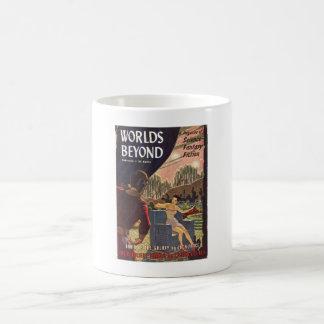 Worlds Beyond 02_Pulp Art Basic White Mug