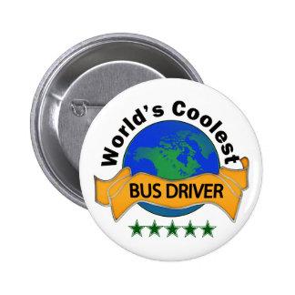 World's Coolest Bus Driver Button