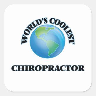 World's coolest Chiropractor Sticker