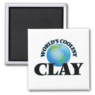 World's Coolest Clay Magnets