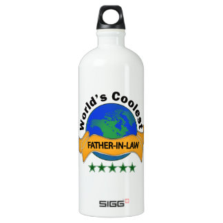 World's Coolest Father-In-Law SIGG Traveler 1.0L Water Bottle