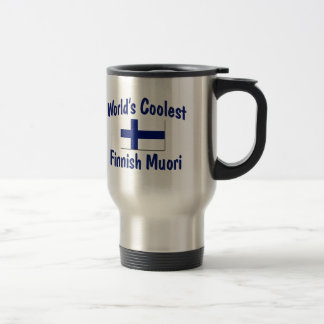 World's Coolest Finnish Muori 15 Oz Stainless Steel Travel Mug