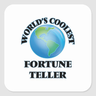 World's coolest Fortune Teller Sticker