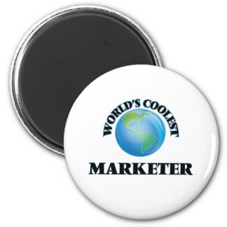 World's coolest Marketer Refrigerator Magnets