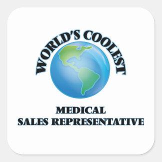 World's coolest Medical Sales Representative Sticker
