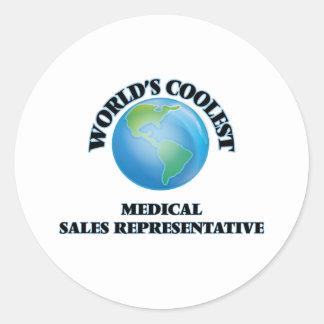 World's coolest Medical Sales Representative Stickers