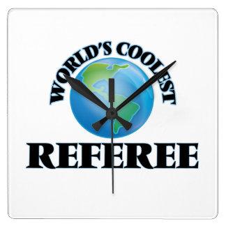 World's coolest Referee Wall Clock