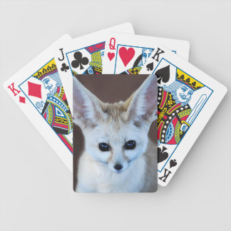 Worlds Cutest Fennec Fox Bicycle Playing Cards