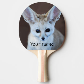 Worlds Cutest Fennec Fox Ping Pong Paddle