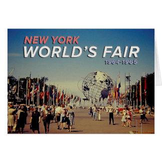 World's Fair 1964 Card