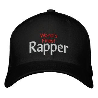 Worlds finest Rapper Embroidered Baseball Cap