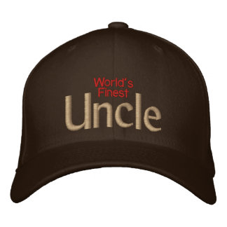 World's Finest Uncle Embroidered Hat