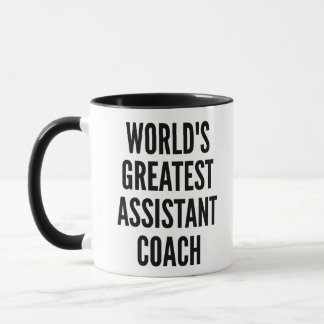 Worlds Greatest Assistant Coach Mug